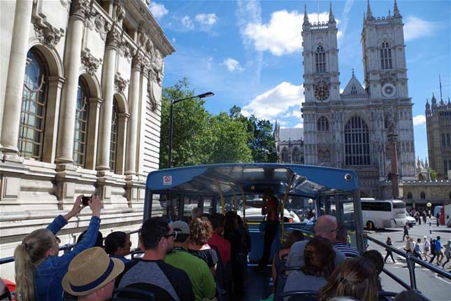 London tour services bus tours